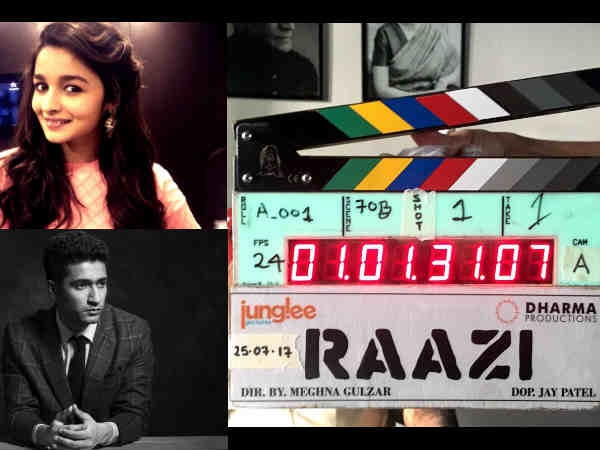 LIGHTS, CAMERA & ACTION! Vicky Kaushal- Alia Bhatt's Raazi Goes On Floors