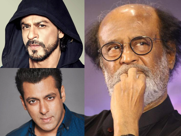 Rajinikanth Shows The Way To Shahrukh Khan & Salman Khan!