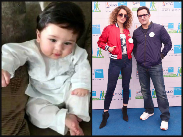INVITING TROUBLE? Saif Ali Khan Drags Taimur Ali Khan While Talking About NEPOTISM & Kangana Ranaut!