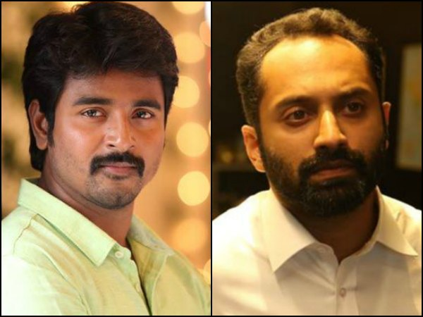 Sivakarthikeyan Has some Great Words For Mollywood's Own Fahadh Faasil!