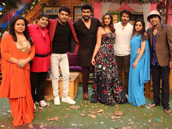 Finally! Mubarakan Cast Shoot For TKSS; Anil, Arjun Kapoor & Ileana D'Cruz Had A Blast!