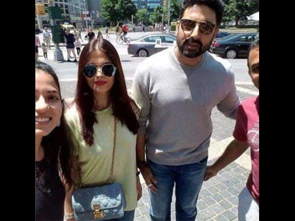 Aish-Abhi Had A Blast In New York