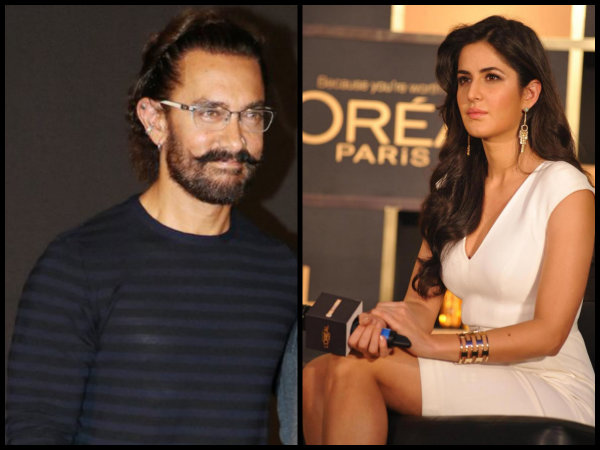 No Bad Blood Between Katrina Kaif & Aamir Khan; Here's The Proof..