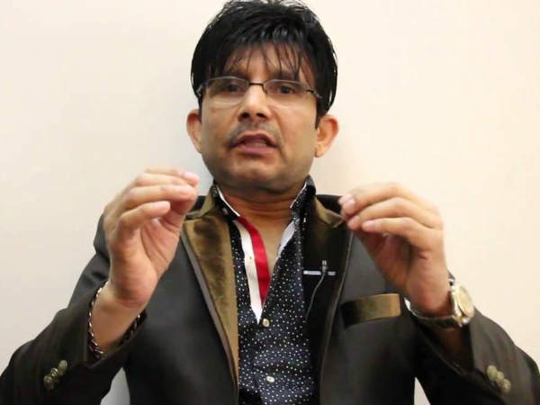 KRK's Distasteless Comment
