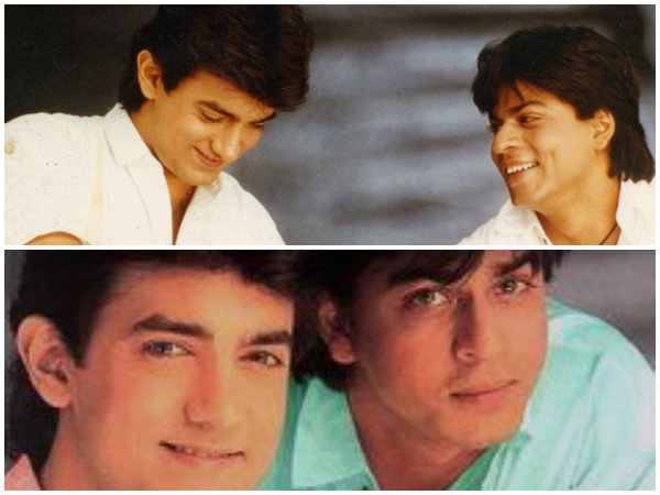 SRK Talks About His Bond With Aamir