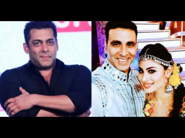 Salman Khan Didn't Not Recommend Mouni's Name For Gold