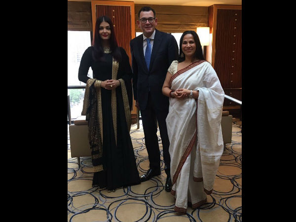 Aishwarya Rai's First Pic From IFFM