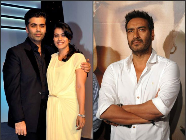 CONTROVERSIAL! Will Kajol & Karan Johar End Their Ugly Fight? Read Ajay Devgn's Reply..