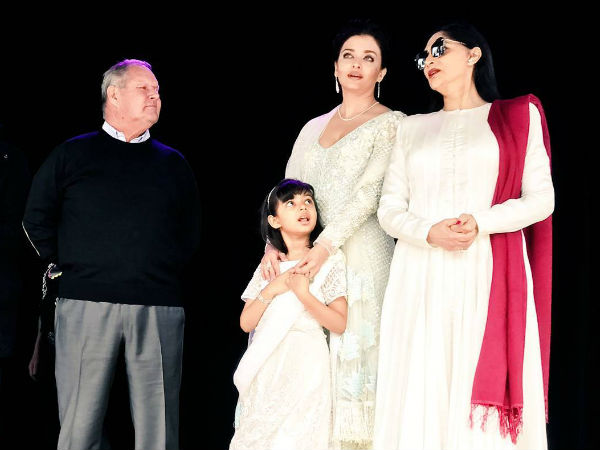Aish With Aaradhya & Simi