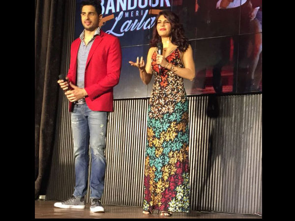 Jacqueline On Sid & Varun's Double Role
