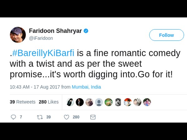 Bareilly Ki Barfi movie review, rating by audience
