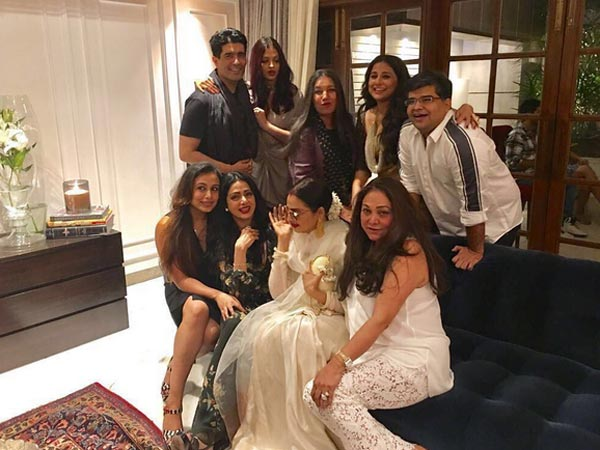 Jhanvi Kapoor, Khushi glam up mom Sridevi's star-studded birthday party