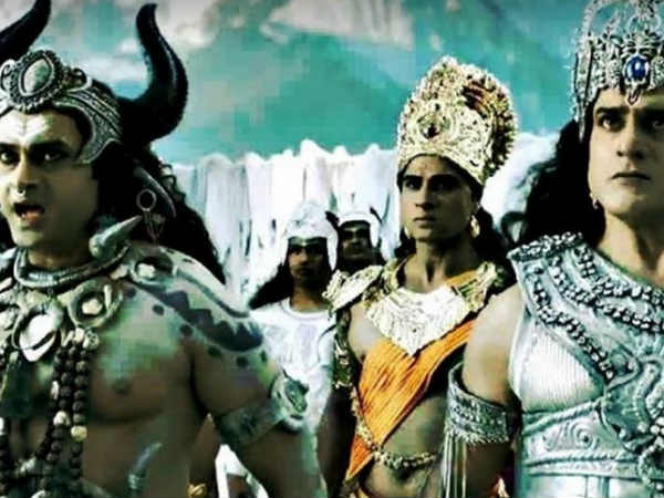 Gagan Played Lord Indra On Mahakali