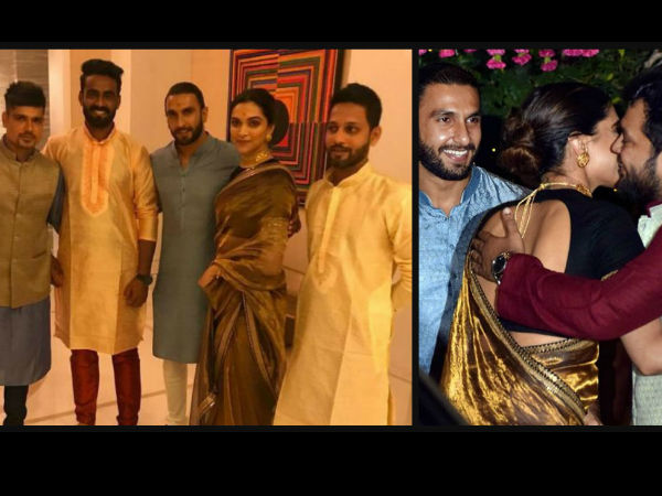 Ranveer-Deepika Were Much Together Throughout The Party