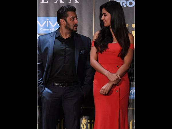 When Salman Left Katrina Blushing