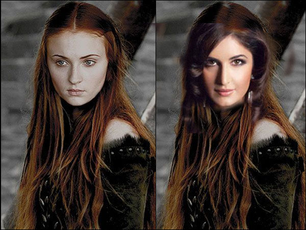 6 Funny Pictures Of Katrina Kaif In Game Of Thrones Characters!