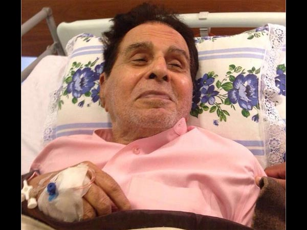 Actor Dilip Kumar recovering well: Wife