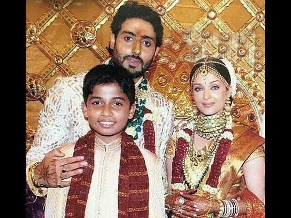 BIG FAT WEDDING! Aishwarya Rai Bachchan & Abhishek Bachchan Look So Royal In RARE MARRIAGE Picture!