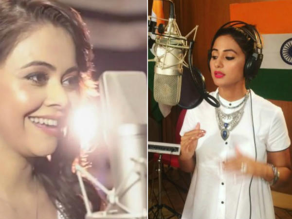Hina Khan's 'Vande Mataram' Or Devoleena Bhattacharjee's 'Hey Gopal Krishna' – What's Your Pick?