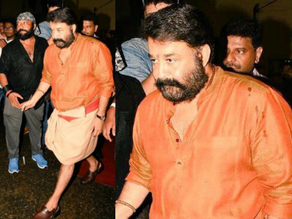 Social Media Goes Gaga Over Mohanlal's Mass Look!
