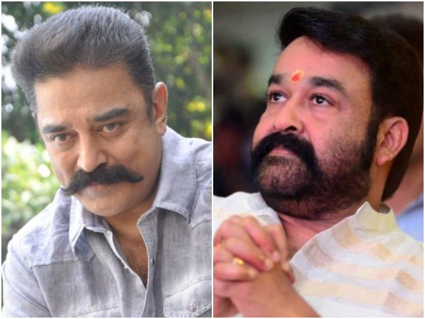 RUMOUR! Mohanlal & Kamal Haasan To Team Up Yet Again?