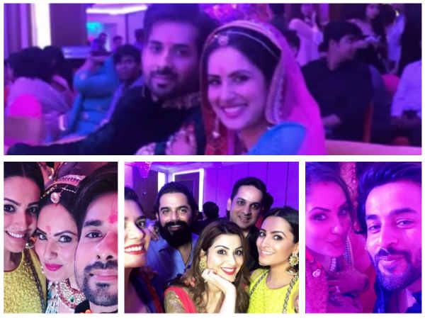 Kunal Verma & Puja Banerjee Get Engaged;Adaa Khan, Anita Hassanandani, Shashank Vyas & Others Attend