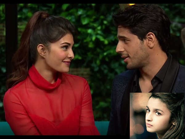 RELAX Alia Bhatt! Sidharth Malhotra Won't Dare Try To Hit On Jacqueline Fernandez