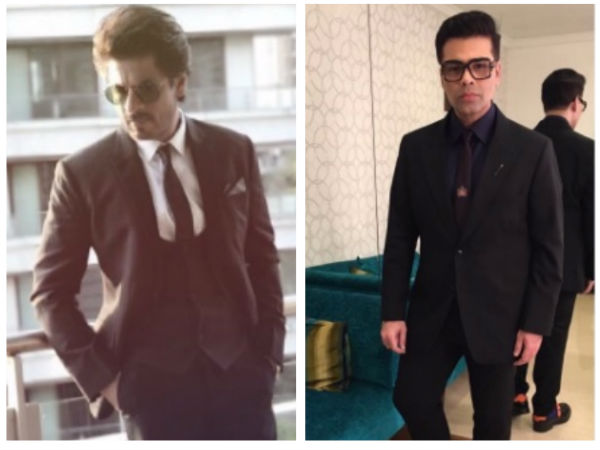 Karan Johar shoots for Shah Rukh Khan's Ted Talks: Nayi Soch