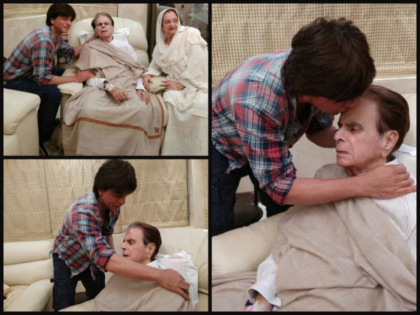 These Pics Of Shahrukh Khan Planting A Kiss On Dilip Kumar's Forehead Will Be Etched In Your Heart!