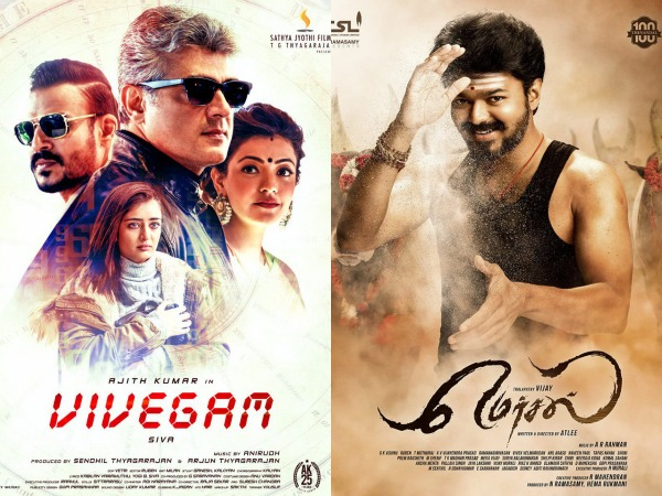 While Vijay's Mersal Gets One, Ajith's Vivegam Gets None!