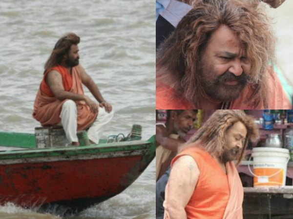 Mohanlal's New Look In Odiyan