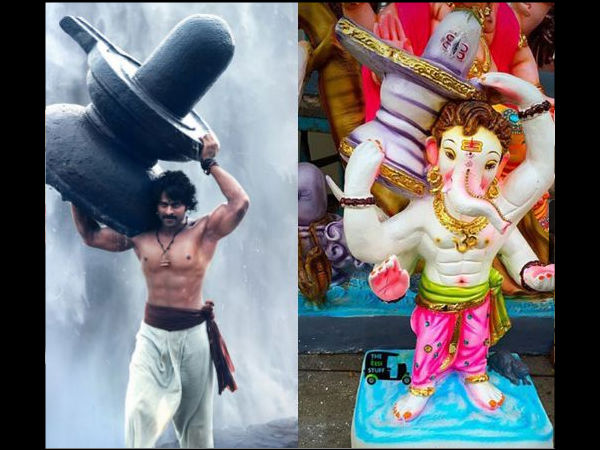 Lord Ganesha Gets The Makeover Of Prabhas