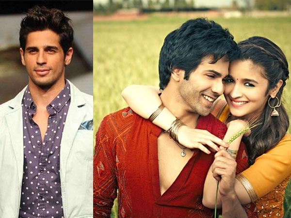 Sidharth Was Not Happy When Alia Spent Time With Varun