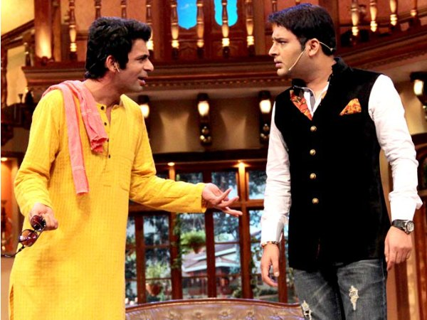 About His Fight With Sunil Grover