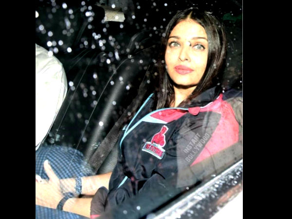 Aishwarya's Other Commitments