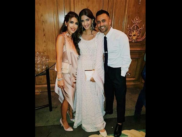Sonam With Her 'Man' Anand Ahuja