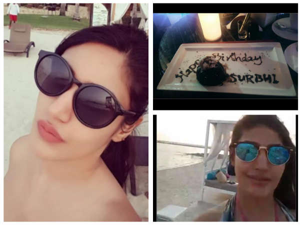 Surbhi Chandna Is On A Vacation