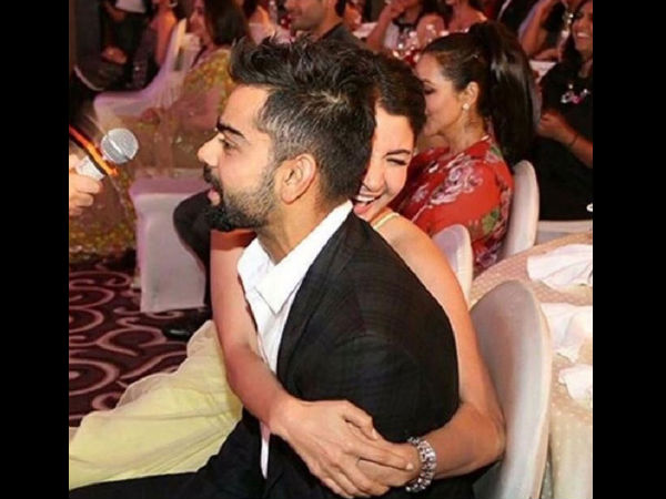 Anushka Sharma, Virat Kohli shoot an ad together, pictures go viral