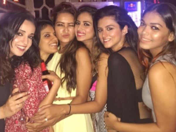 Sargun Celebrates Birthday With Her Girl Gang
