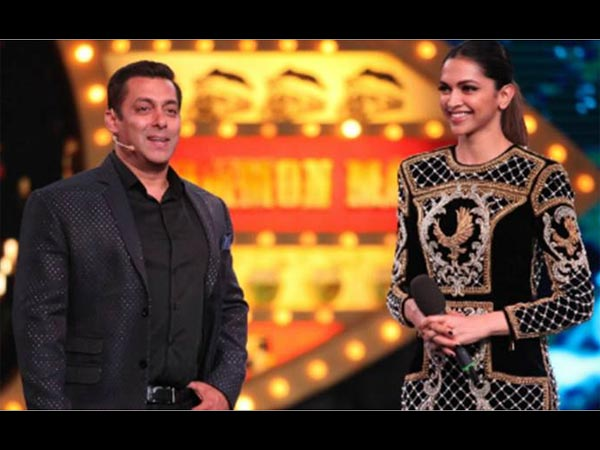 WHAT?! Salman Khan and Deepika to romance each other?