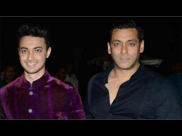 Aayush Is Not Happy With Salman's Choice