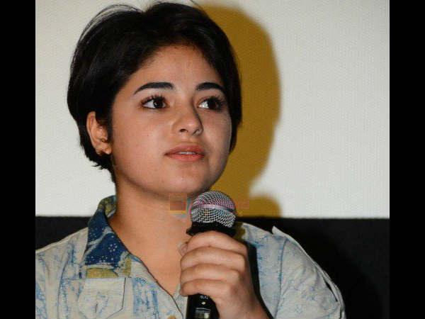 Don't Like Being Called 'Inspirational', 'Role Model': Zaira Wasim