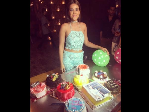 Nia Sharma Celebrates Her Birthday
