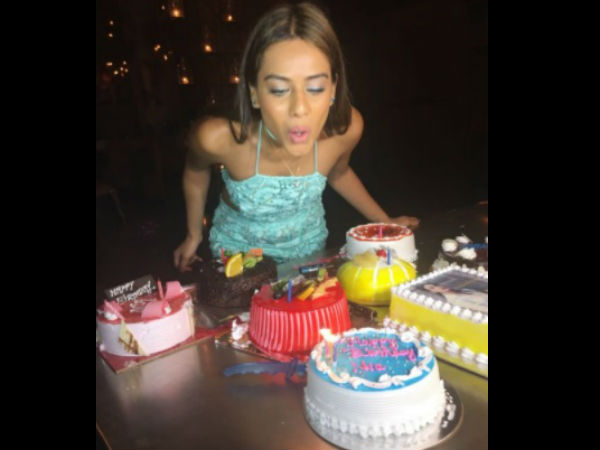 Nia Sharma's Birthday