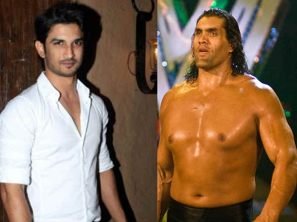 Sushant Singh Rajput Might Play The Great Khali In His Biopic