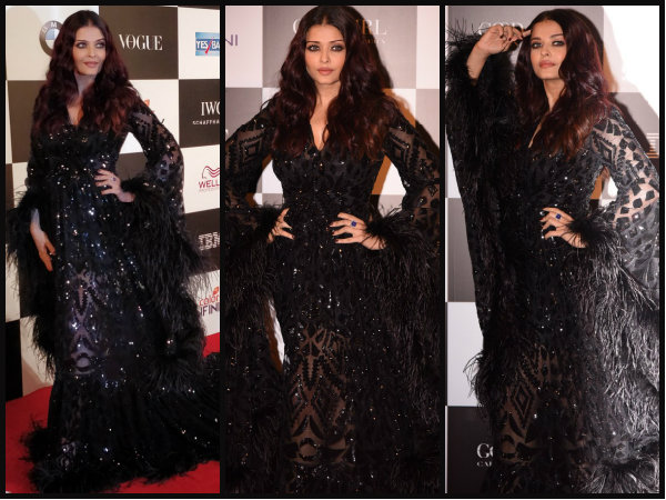 Was Aishwarya Rai overdressed for this event?