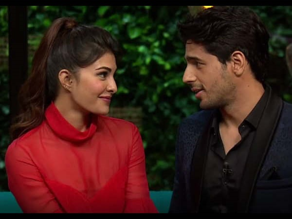 Jacqueline On Dating Sidharth