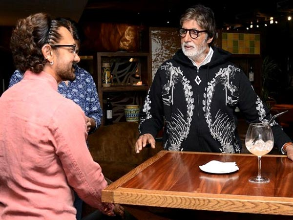 Amitabh Bachchan On Working With Aamir For The First Time