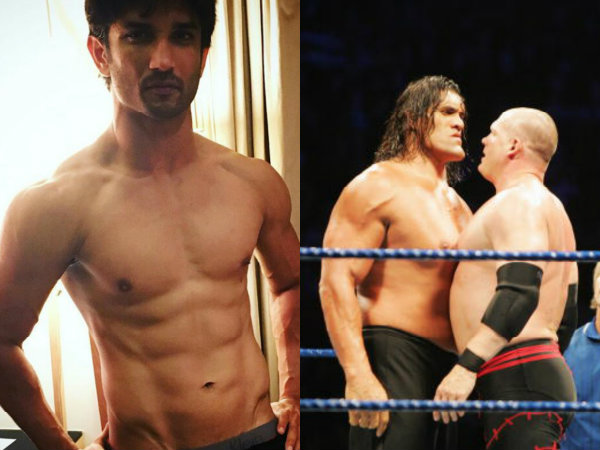 Sushant Singh Rajput To Star In The Biopic Of The Great Khali?