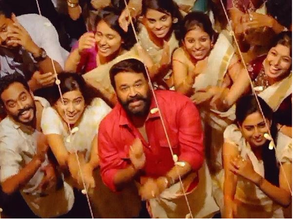 Mohanlal's Jimikki Kammal Video Takes Social Media By Storm!